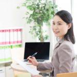 オフィスワークの女性60