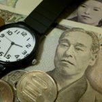 お金と時間のイメージ 「タイム・イズ・マネー」