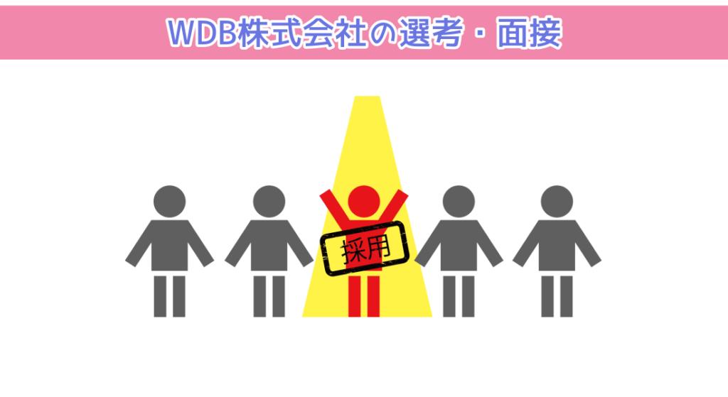 WDB株式会社の選考・面接