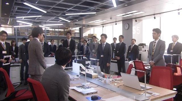 営業企画課に配属された井手裕太郎・中村海人